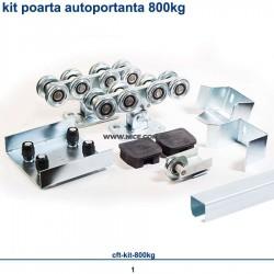 Kit poarta autoportanta Cft 800kg