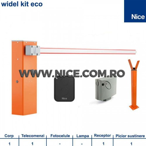 Bariera Automata 6m Widel Kit Eco