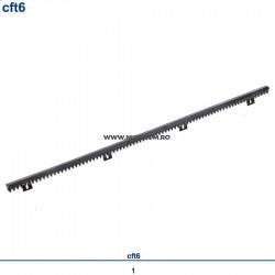 Cremaliera din nylon Cft6