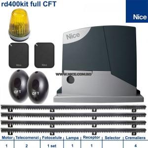 PROMOTIE!!! Automatizari porti culisante Nice Road400Kit CFT