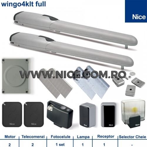 Automatizari porti batante Nice Wingo4Klt Full